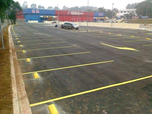 Construtora Naska – Ampliação do estacionamento Extra Embú